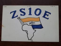SOUTH AFRICA Robertson ( ZS1OE  ) CB Radio - Louis ROSENZWEIG - 1956 ( Zie Foto Voor Details ) - Radio Amatoriale