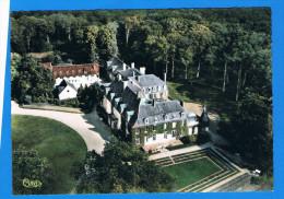 CPSM - Montcresson- Vue Aérienne- Château De La Forest- Ancienne Résidence Du Maréchal Mac Mahon-45 Loiret - France