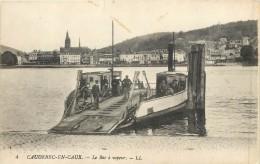 76 CAUDEBEC EN CAUX - Le Bac à Vapeur - Caudebec-en-Caux