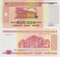 Belarus 500000 Rublei 1998 Pick 18 UNC