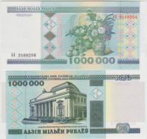 Belarus 1000000 Rublei 1998 Pick 19 UNC