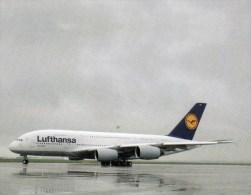Postcard - Airbus A380 - Lufthansa. AviL04 - 1946-....: Moderne