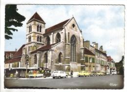 CPSM SAINT MAUR DES FOSSES (Val De Marne) - L'église Et Le Marché - Saint Maur Des Fosses