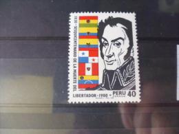PÉROU TIMBRE OU SÉRIE YVERT N° 691** - Peru