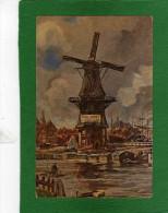 PUBLICITÉ ,COLLECTION Cacao BLOOKER ,Série De  Vues Pittoresque De La Hollande   Cpa   Peinture  N°3 - Pubblicitari