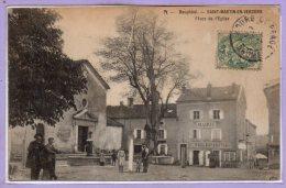 26 - SAINT MARTIN En VERCORS -- Place De L'Eglise - France