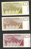[NC] SLOVENIA - REPUBLIKA SLOVENIJA - 1 / 2 / 5 / 10 / 50 TOLARJEV (1990) - LOT Of 5 DIFFERENT BANKNOTES - Slovénie