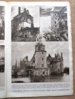 """Magazine Avec Article """"Le Château D´Havré S´écroule"""" 1931 - Vieux Papiers"""