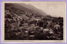 26 - SAINT MARTIN D'HOSTUN --  Vue Générale - Otros Municipios