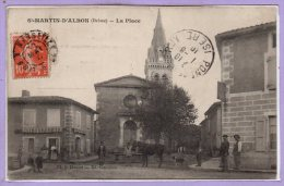 26 - SAINT MARTIN D'ALBON --  La Place - Autres Communes