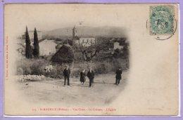 26 - SAINT MAURICE --  Vue Ouest - Le Chateau - L'Eglise - France