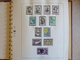 Belgique tr�s gros album 1965 - 1972 en neuf ** avec bloc et carnets + variantes en Belgica 72