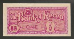 [NC] SOUTH KOREA - BANK Of KOREA - 1 WON (1953) - Corea Del Sud