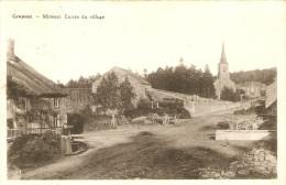 Grupont Mirwart Entrée Du Village Eglise Et Chariot - Saint-Hubert