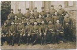 SAINT AUBIN DU CORMIER - Carte Photo Militaire - Groupe Du 136° - Autres Communes