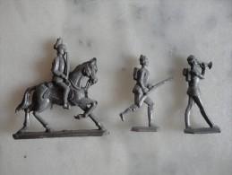 Superbe Lot De 21 Soldats De Plomb Non-peints - JB74 - Tin Soldiers