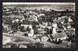 CPSM Pf .Dépt .27. En Avion Au Dessus De LA HAYE-MALHERBE. Vue Générale ( Château D'eau ) - Francia