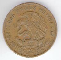 MESSICO 20 CENTAVOS 1960 - Messico