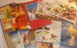 20 Verschiedene Weihnachtskarten, 1 Set - Noël