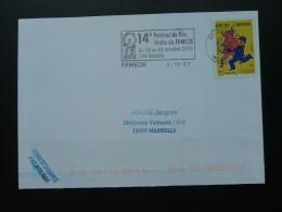 57 Moselle Fameck Festival Film Arabe 2003 Arabic Film Festival Islam - Flamme Sur Lettre Postmark On Cover
