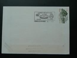 95 Val D'Oise Cormeilles En Parisis Ville Fleurie - Flamme Sur Lettre Postmark On Cover - Postmark Collection (Covers)