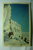 Glacier National Park, Mont, An Ice Wall Near The Summit - Etats-Unis