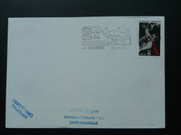 974 Réunion La Riviere Observatoire Astronomie - Flamme Sur Lettre Postmark On Cover - Astronomie
