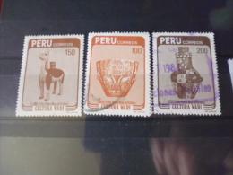 PÉROU TIMBRE OU SÉRIE YVERT N° 775.777 - Peru