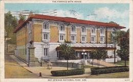 The Fordyce Bath House Hot Springs National Park Arkansas 1927