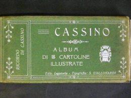 FROSINONE -CASSINO -LIBRETTO 18 CARTOLINE COMPLETO -F.P. - Frosinone