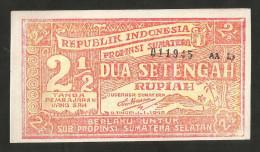 [NC] INDONESIA - 2 1/2 RUPIAH (1948) - Indonesia