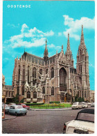 Oostende: TRIUMPH HERALD & VITESSE, SIMCA 1000, FORD TAUNUS 12M P4 & CONSUL - Kathedraal/Cathédrale - (B) - Turismo