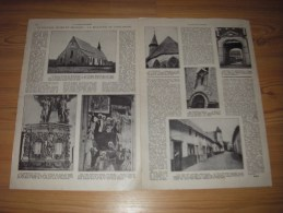Reportage Met Foto's Uit Oud Tijdschrift 1953 - Un Nouveau Musée En Belgique - Le Beguinage De Saint-Trond - Documentos Antiguos