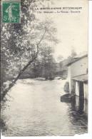 Cp 87 BELLAC Le Vincon Tannerie  ( Habitations Usine ) - Bellac