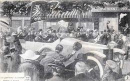 OLDTIMER - Un Drapeau Allemand Porte A Paris, Feldpost Gel.1916 Von Valmy France > London - Politische Und Militärische Männer