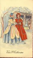 Illustr. Vive Ste Catherine - 2 Dames - Saisons & Fêtes