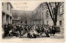 Carcassonne - Collège De Jeunes Filles - Carcassonne