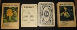 C1920, Bloemenkwartett, Roosachtigen / Jeu Des Familles, Fleurs, 40 Cartes - Complet ! - Autres Collections