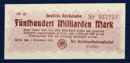 Germany - 1923 500 Milliarden Mark - [ 3] 1918-1933 : Weimar Republic