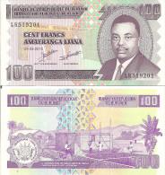 Burundi P44, 100 Francs, Prince Rwagasore / Home Construction, 2010 - Burundi