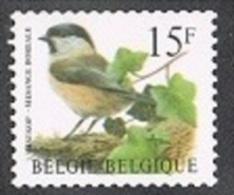 Année 1997 - R81** -  15F Mésange Boréale  -  Cote 1,15€ - Coil Stamps