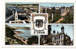 CP, ALGERIE, ORAN, Souvenir, Multivues, Ecrite - Oran