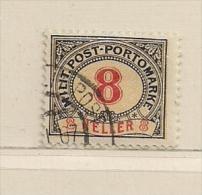 BOSNIE  ( D16 - 2309 )   1904   N° YVERT ET TELLIER  TAXE   N° 8 - Bosnia And Herzegovina