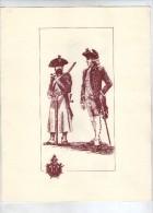 Militaria , 4 Pages,sapeur Et Officier Vers 1780,sapeur Du Génie Vers 1900,atelier Arts Décoratifs , Frais Fr : 3.00€ - Lithographies
