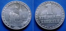 AUSTRIA JETON 1 STEPHANS GROSCHEN 1950 SANKT STEPHANS DOM IN WIEN - Royal / Of Nobility