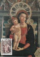 Carte-Maximum DOMINICA N�Yvert 440 / A. Mantegna / Vierge