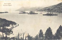 CROATIA  - HRVATSKA  - GRUZ - GRUŽ - WAR SHIPS  - By J.Kulišić  - 1910 - Croazia