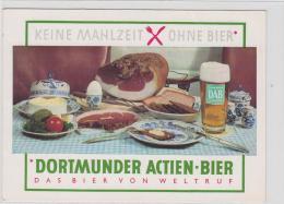 AK - Dortmund ACTIEN BIER - Werbekarte - Werbepostkarten