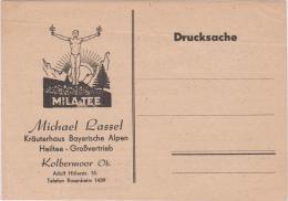 AK - MILA TEE - Werbekarte - Kräuterhaus Bayer. Alpen - Werbepostkarten