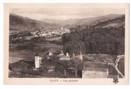 CP, 12, FAYET, Vue Générale, Voyagé En 1955 - France